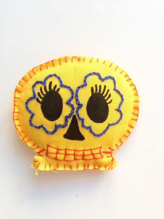 Calaverita de Pina Fridge Magnet