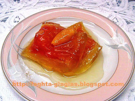Καρπούζι γλυκό του κουταλιού - από «Τα φαγητά της γιαγιάς»