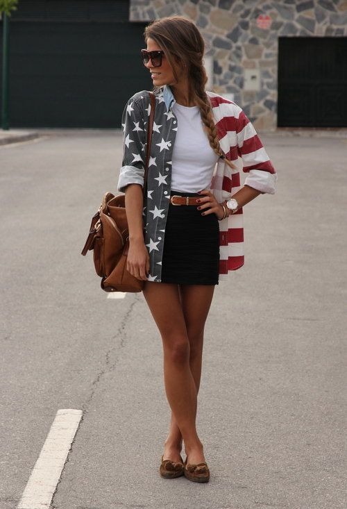 Starz and stripezFashion, American Flags Shirts, Style, Clothing, Fourth Of July, Red White Blue, 4Th Of July, Cute Outfit, Usa