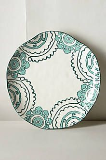 Confession.  I just bought this as a decor plate for my curio cabinet.  Def a splurge for me, but it is so perfect I couldn't resist!