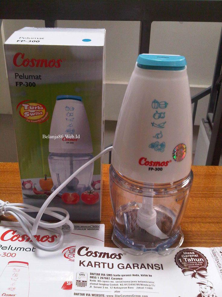 Cosmos Food Processor/ Pelumat Makanan FP-300 Biru