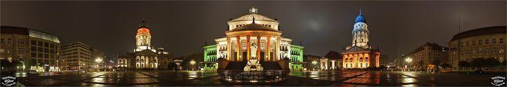 Panorama Bilder Berlin - Festival of Lights 2007 - Gendarmenmarkt - p017 - (c) by Oliver Opper