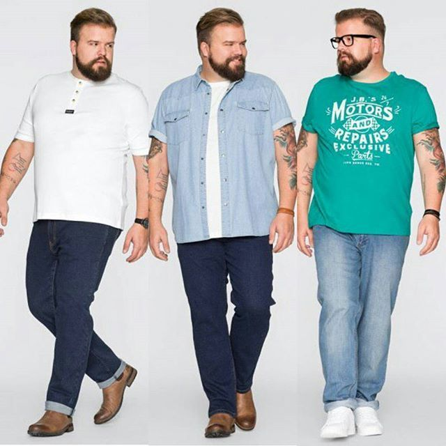 106 Best Plus Size Fashion For Men Images On Pinterest Big Men Fashion Big Guys And Men Fashion