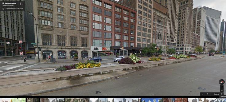 Gyazo - Юг-Мичиган-авеню– Google Карты - Google Chrome
