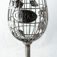 Suport sticla de vin - Pahar