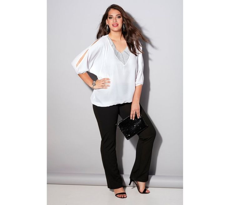 Kalhoty s pružným pasem vzadu | modino.cz #ModinoCZ #modino_cz #modino_style #style #fashion #trousers #bellisima