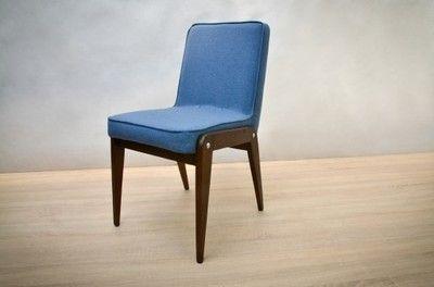 Komplet czterech krzeseł Aga, lata 60.