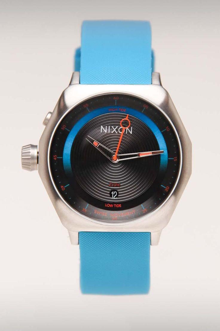 Nixon watch: Deci Men, Deci Watches, Nixon Blue, Blue Watches, Nixon Watches, Inspiration Watches, Nixon Men Watches, Blue Inspiration, Watches Menswear