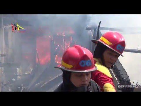 5 Rumah Terbakar di Padang, Kerugian Milyaran Rupiah