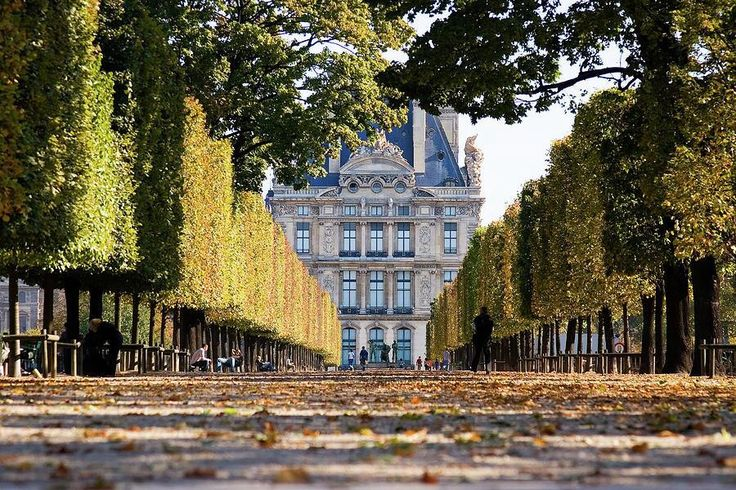 Tuileries in Paris