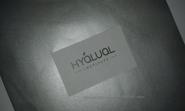 Nasze Testowanie: Institute Hyalual WOW mask - hydrożelowa peptydowa...