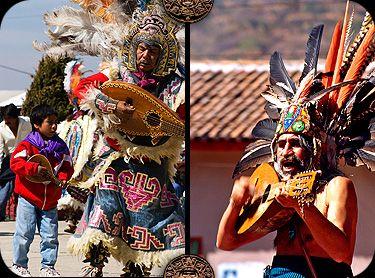concheros- danzas mexicanas
