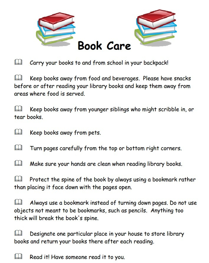 83 Library Rules Coloring Page 36 Best Book Care