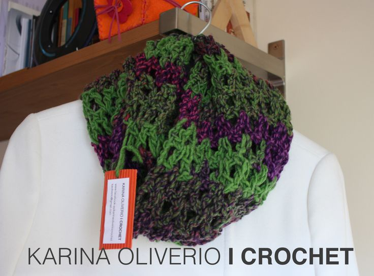26 best Bufanda infinita, infinitive scarf, cuello, cowl images on ...