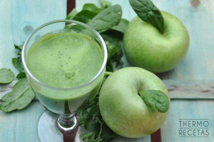 Green smoothie - http://www.thermorecetas.com/green-smoothie/
