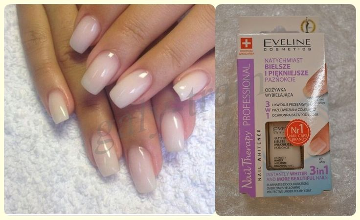 EVELINE Nail Therapy Professional INSTANTLY WHITER NAILS 3 IN 1 NAIL WHITENER  #EvelineCosmetics