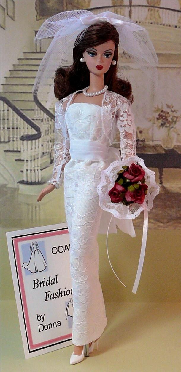 bolero bridal fashion by donnas doll designs for silkstone barbie