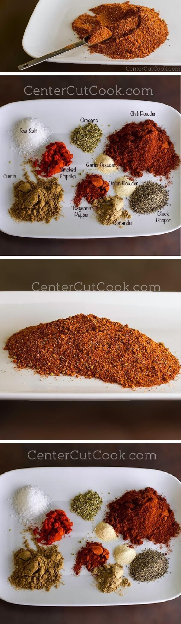 HOMEMADE TACO SEASONING is comprised of 10 different spices and seasonings that you likely already have in your pantry!