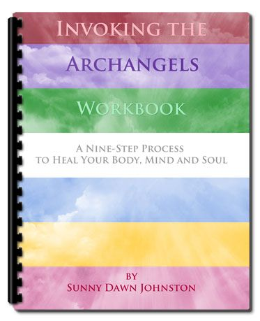 Invoking the Archangels Workbook Download. http://sunnydawnjohnston.com/shop/invoking-the-archangels-workbook-download/  I have journaled, on and off, throughout my life.  I have found that seeing my experience in black and white, in bold writing in front of me has a lot of power. Within days of completing the manuscript my book, Invoking the Archangels, I felt a stirring within to create a companion workbook. I hope you enjoy the experience as I have!