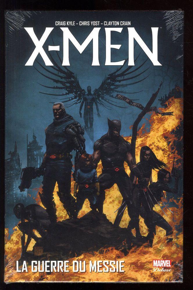 X-MEN La Guerre du Messie   Craig KYLE / Chris YOST / C. CRAIN  MARVEL DE LUXE