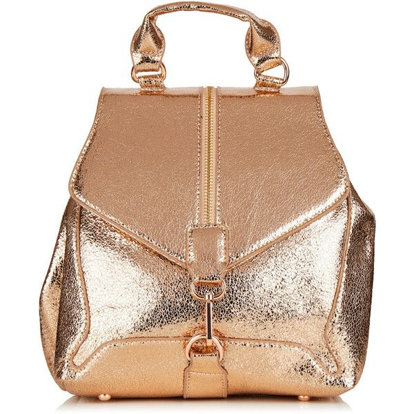 Rose Gold Agate Backpack ($55) ❤ liked on Polyvore featuring bags, backpacks, backpack, daypack bag, rucksack bags, backpack bags, beige bag and knapsack bag