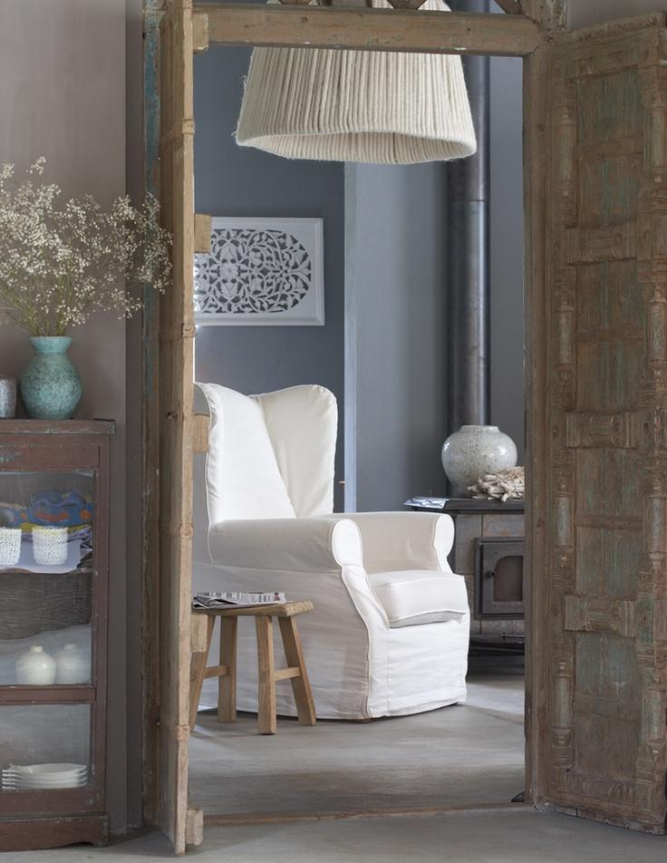 harmonie du bleu gris avec les portes couleur toile de jute bross avec un peu de bleu pour le. Black Bedroom Furniture Sets. Home Design Ideas