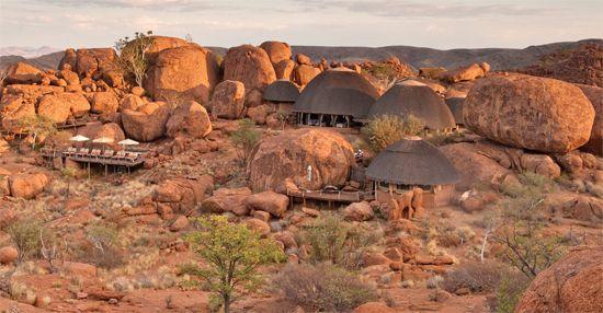 Mowani Mountain Camp   Twyfelfontein   Namibia