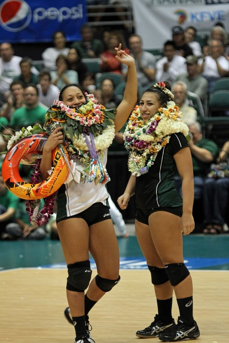 Dani Mafua And Liz Kaaihue Women Volleyball Coaching Volleyball Volleyball Players