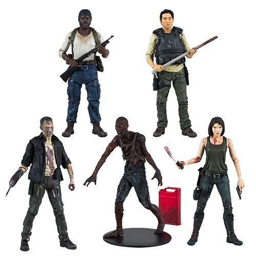 The Walking Dead TV Series 5 Action Figure Set - McFarlane Toys - Walking Dead - Action Figures at Entertainment Earth