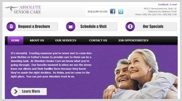 Absolute Senior Care has been providing companion/sitter services in the Oklahoma City metro area for over a decade.    http://www.octalsoftware.com/portfolio/portfolio-by-technology/magento-portfolio