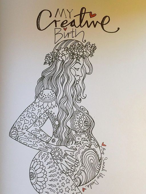 1000 Images About Colouring Books Pregnancy Birth Etc