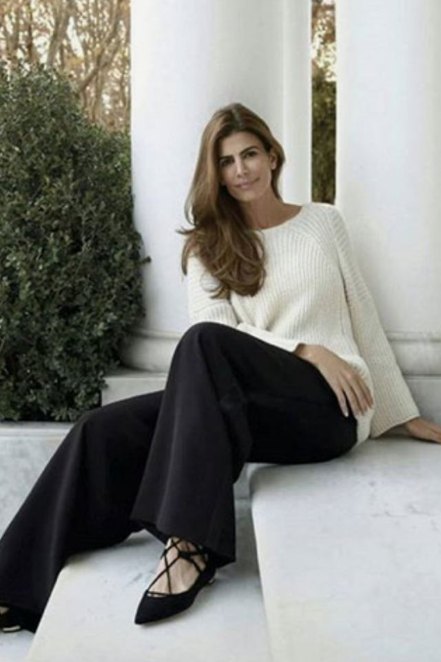 Blanco y negro. Juliana Awada