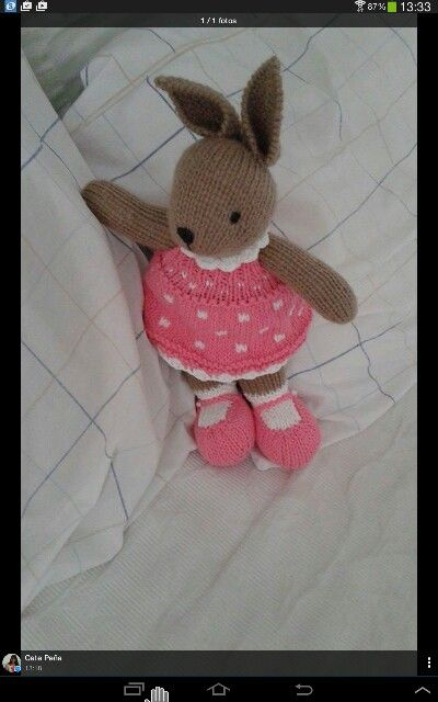 Bunny in pink ♡
