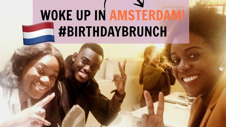 Hi guys, it's Saturday which means your girl is back with a brand new vlog. This time I traveled to Amsterdam, The Netherlands to celebrate my birthday there...
