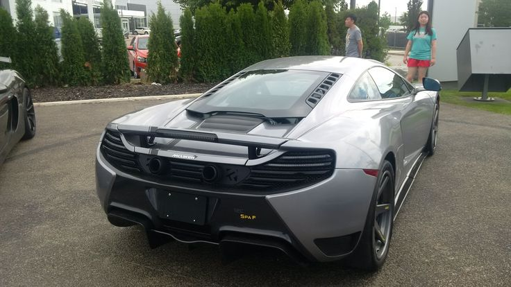 Gorgeous Special edition Mclaren MP4-12C SPA F