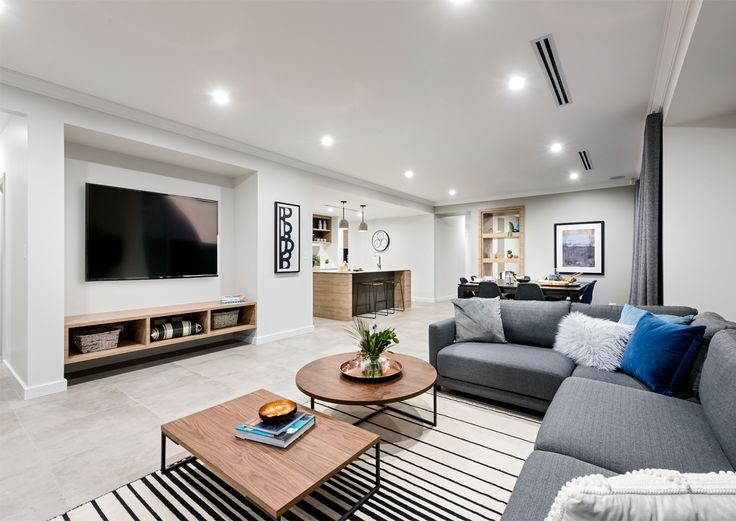 Home Builders Australia | Living | Display Home | New Homes | Interior Design | Furniture | Colour