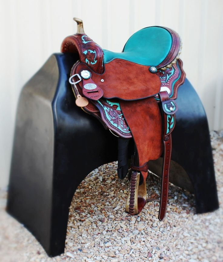 New ~ DP Double C Barrel Saddle