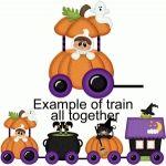 halloween train engine pnc