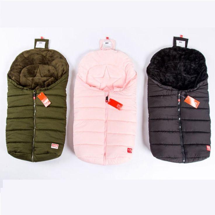 2016 New baby Sleeping Bag, Baby Stroller Sleeping Bag Winter Warm Envelope For Pram for wheelchair