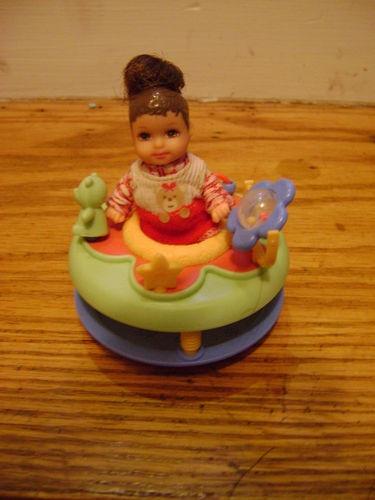 Barbie Happy Family Next Door Neighbor Baby and Walker | eBay