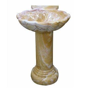 Carved Stone Sink : ... Stone-Sinks/Stone-Sinks-Bronze-Onyx-Hand-Carved-Pedestal-Stone-Sink/pd