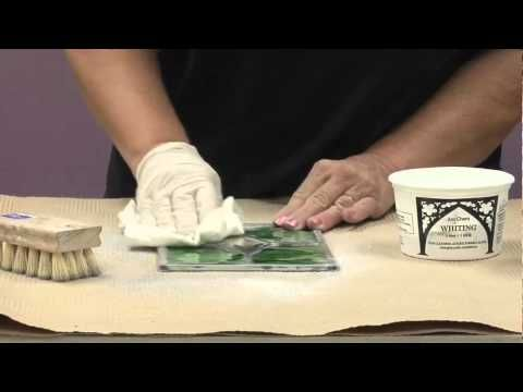 Stained Glass Supplies: How to Clean a Stained Glass Lead Panel