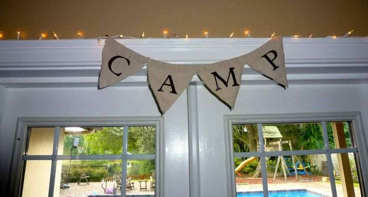 Camp-In Birthday Party + Dessert Table - Spaceships and Laser Beams