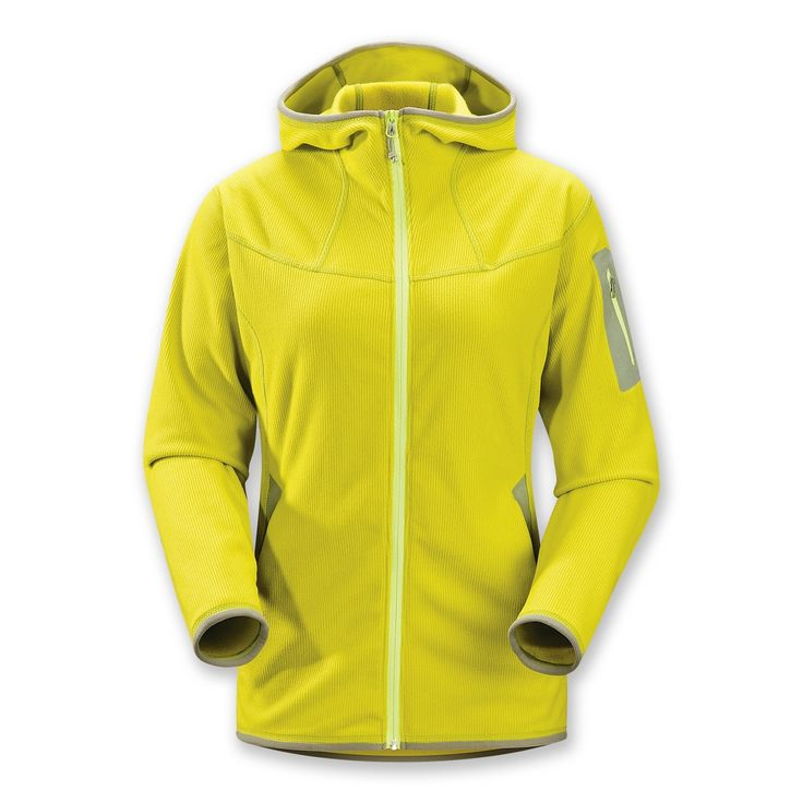 Arc'teryx Caliber Fleece Hoodie Jacket - Full Zip (For Women)