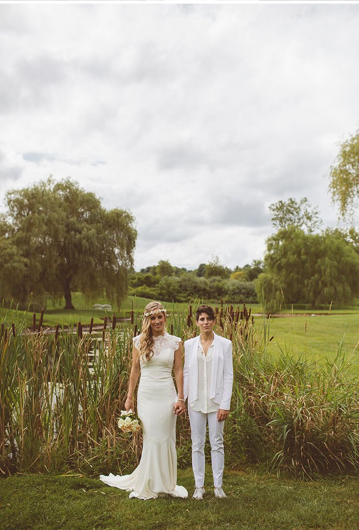 78 best My (Lesbian) Wedding images on Pinterest | Bridal gowns ...