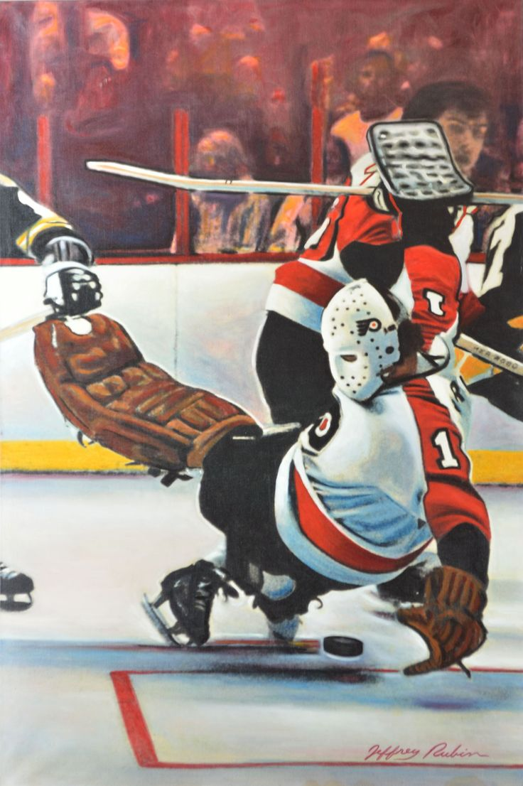 #1 Bernie Parent