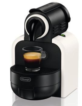 Nespresso Essenza EN97.W Macchina per caffè espresso di De'Longhi, colore Bianco Sand