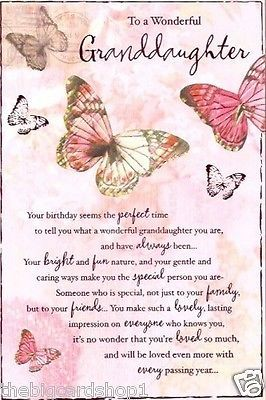 Happy Birthday to a wonderful Granddaughter | eBay