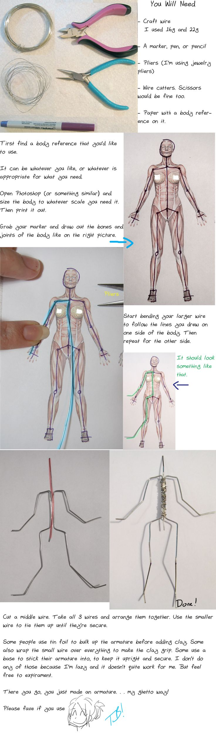 Armature Tutorial 2011 by *Tsurera on deviantART