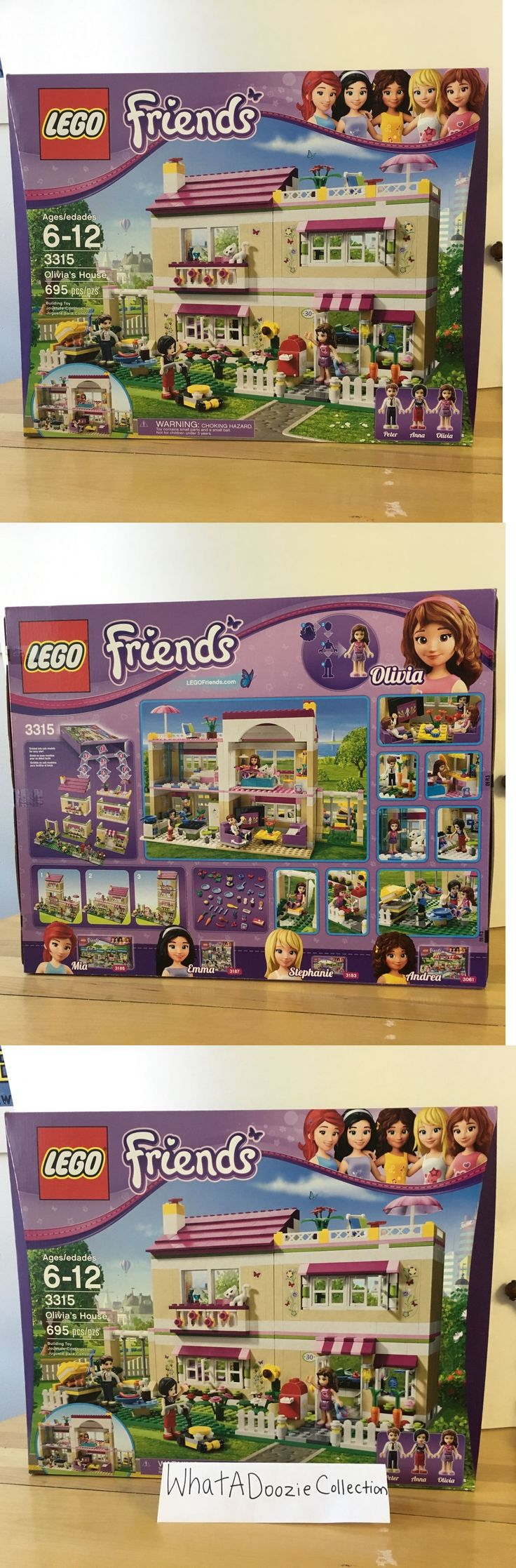 LEGO Complete Sets and Packs 19006: Lego Friends: Olivia S House 3315- Brand New! -> BUY IT NOW ONLY: $115.99 on eBay!